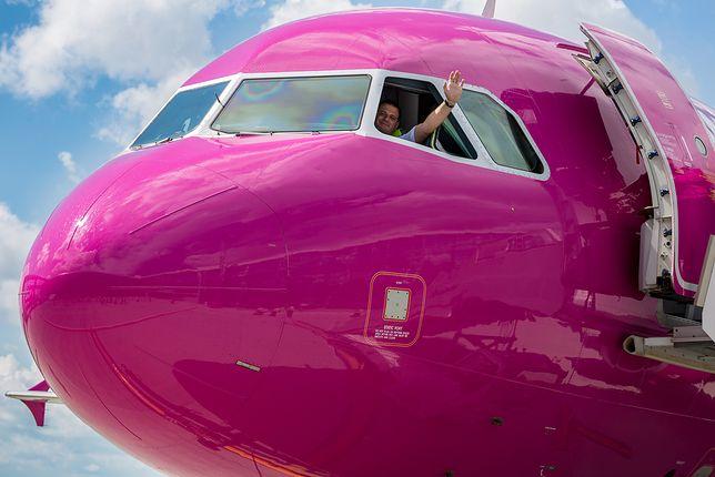Maszyna Wizz Air lecąca do Warszawy lądowała awaryjnie w Rumunii