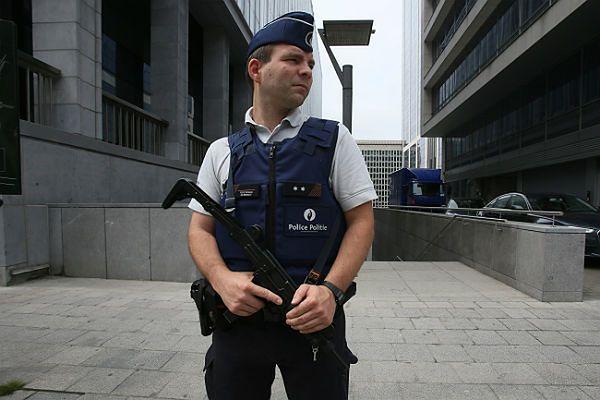 Budynek policji, w którym belgijscy policjanci przesłuchiwali Mehdiego Nemmouche''a