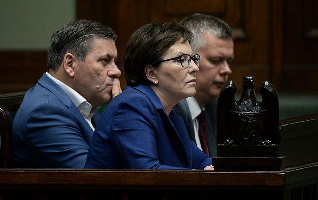 Ewa Kopacz, Janusz Piechociński i Tomasz Siemoniak