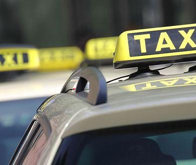 Pasażer groził nożem taksówkarzowi