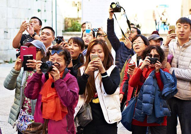 Chińscy turyści pobili turystyczny rekord