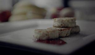 Placuszki z sera pleśniowego. Konkurencja dla racuchów