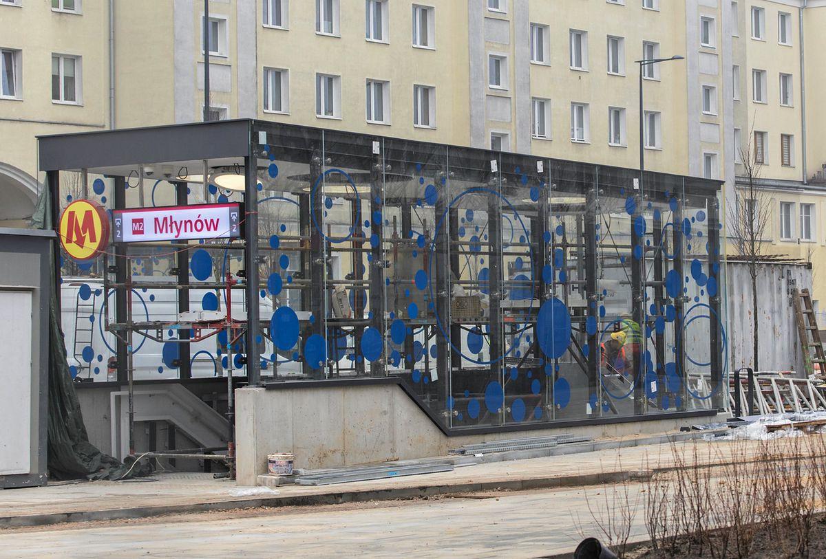 Stacje metra na Woli gotowe. Zostaną otwarte jeszcze w kwietniu