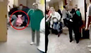 Gdy kobieta zemdlała, pomocy udzielali jej pacjenci
