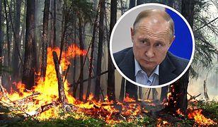 Władimir Putin ma problem. Pożary na Syberii trwają.