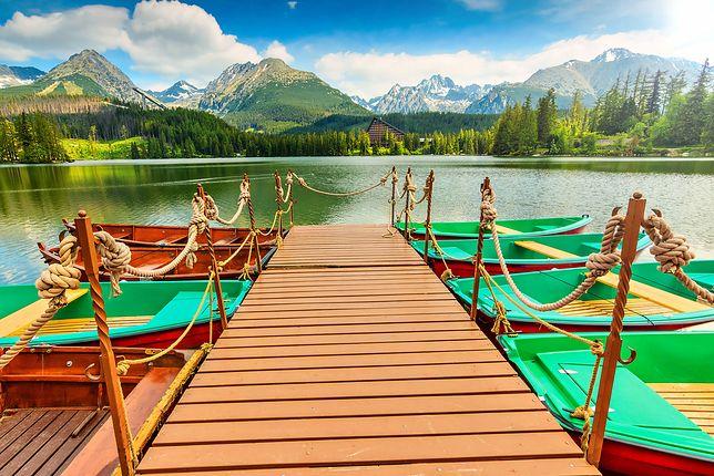 Pomysł na majówkę - Szczyrbskie Jezioro, Słowacja