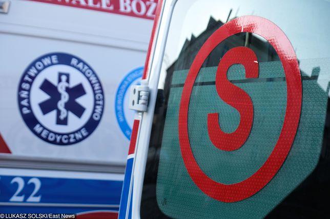 Dziewczynka zmarła po przewiezieniu do szpitala