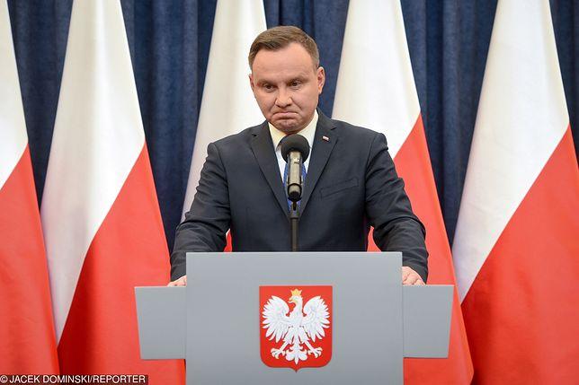 Andrzej Duda zignoruje posunięcie Sądu Najwyższego - zapowiada jego kancelaria
