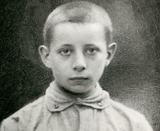 Jurek Bitschan, 14-letni obrońca Lwowa. Zginął w walkach o miasto 21 listopada 1918 r.