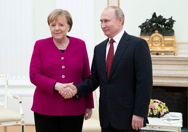 Merkel rozmawia z Putinem. Wśród tematów Bliski Wschód