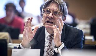 Verhofstadt: jestem na czarnej liście Putina, teraz będę na liście Kaczyńskiego