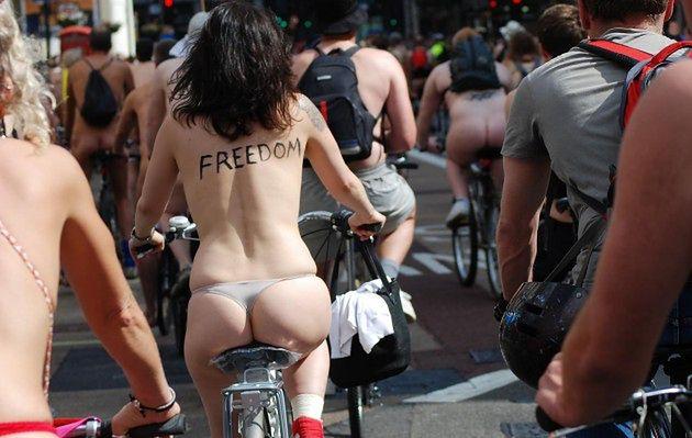 Światowy Dzień Protestu Nagiego Rowerzysty