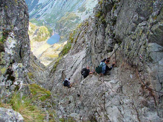 Najniebezpieczniejszy szlak Tatr - Orla Perć
