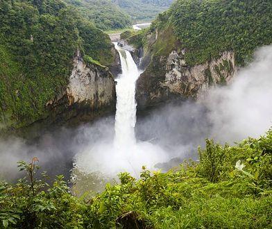 San Rafael zniknął. Był największym wodospadem w Ekwadorze