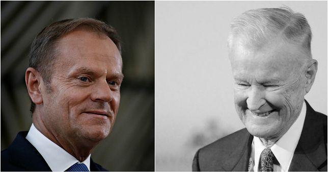 Donald Tusk zdradził, co obiecał Zbigniewowi Brzezińskiemu