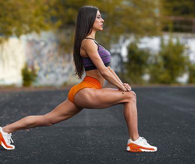Ćwiczenia na pośladki z Mel B dają efekt wyszczuplenia i ujędrnienia