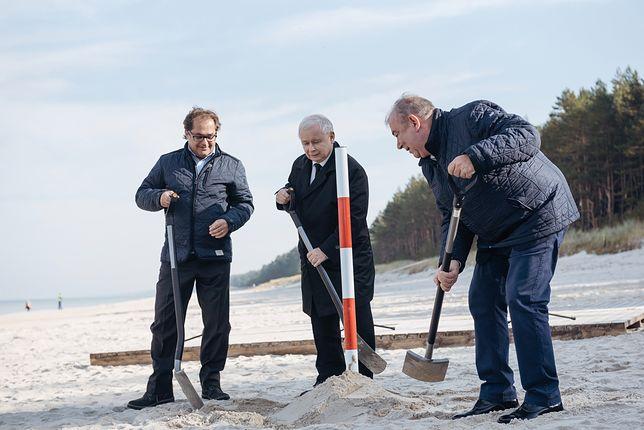 Nowa afera z przekopem Mierzei Wiślanej. Zabraknie piasku na słynnej plaży w Krynicy Morskiej