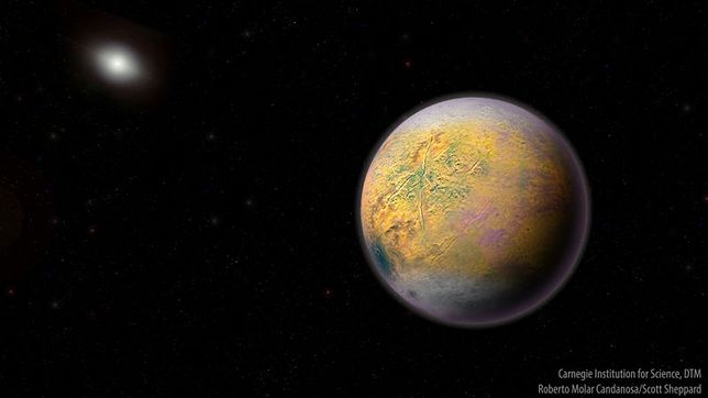 """""""Goblin"""" jest kolejnym z obiektów transneptunowych"""
