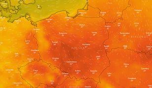 Burze nad Polską i ostrzeżenie przed upałami