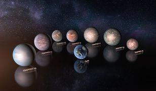 Egzoplanety układu TRAPPIST - 1