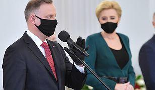 Andrzej Duda przemówił w Pałacu. Podziękował Polakom, którzy ratowali Żydów w trakcie II WŚ