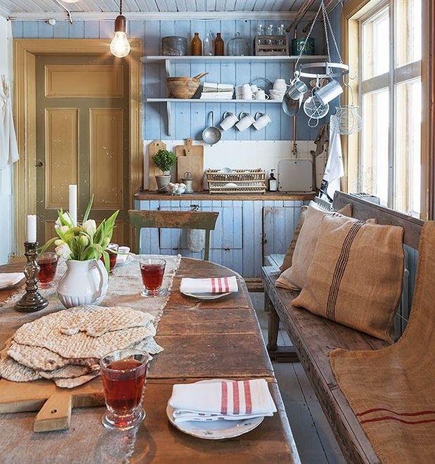 Rustykalna kuchnia