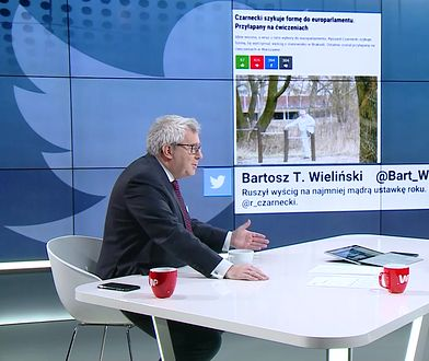 """Ryszard Czarnecki o przyłapaniu go na ćwiczeniach. """"Żadna ustawka"""""""