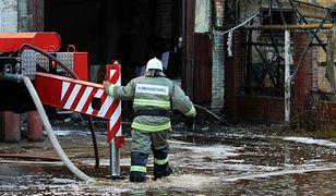 Pracę ratowników utrudniały nieaktualne plany ewakuacyjne