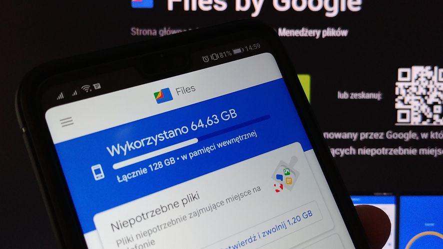 Ruszyły testy ciemnego motywu w Files by Google