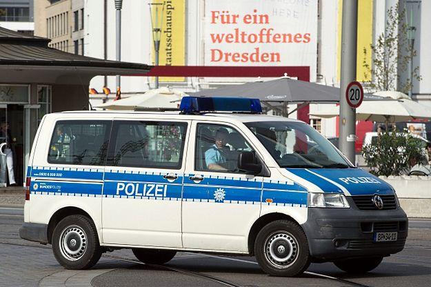Pod mostem w Dreźnie znaleziono atrapę bomby