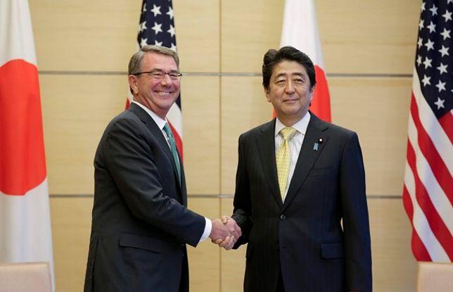 Shinzo Abe i Sekretarz obrony USA