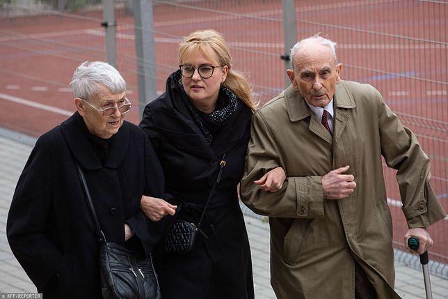 Magdalena Adamowicz z teściami Teresą i Ryszardem Adamowiczami