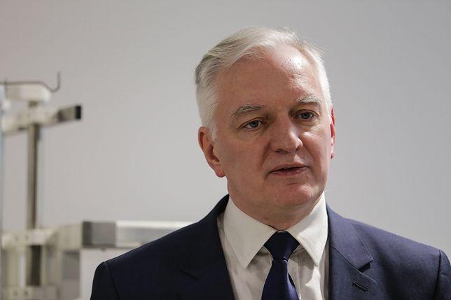 Jarosław Gowin uważa, że nie ma obecnie przyzwolenia społecznego na nagrody dla członków rządu
