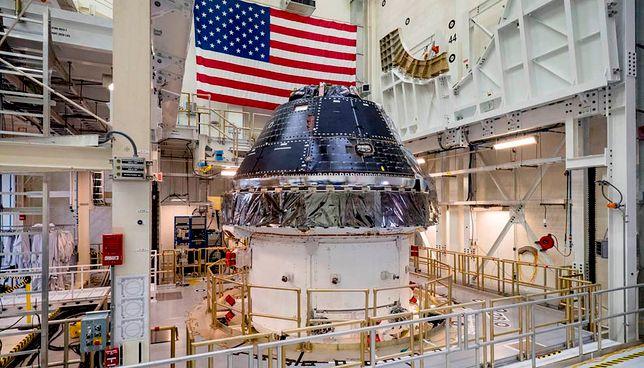 NASA ogłosiła zakup kolejnych kapsuł załogowych Orion