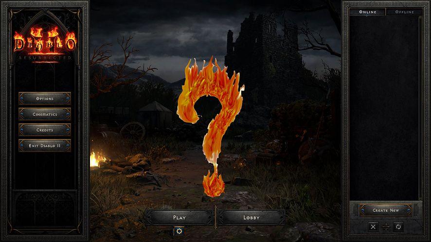 Padły serwery Diablo 2: Resurrected. Gracze skarżą się na znikające postaci