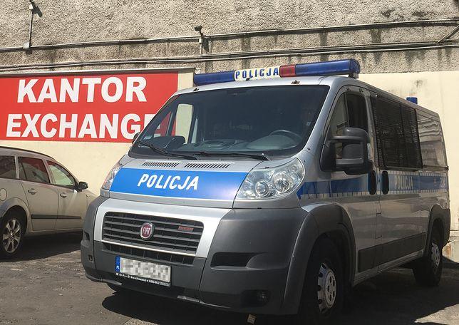 Policyjna obława na stołecznej Ochocie