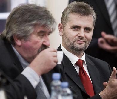 Adam Śliwicki (z prawej)