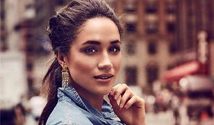 Meghan Markle w Elle France. Piękna stylizacja, ale twarz bez piegów