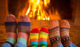 Kolorowe skarpetki mogą połączyć całą rodzinę