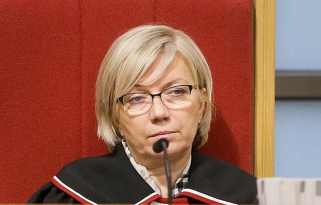 Julia Przyłębska: wniosek Zbigniewa Ziobry nie paraliżuje prac Trybunału Konstytucyjnego