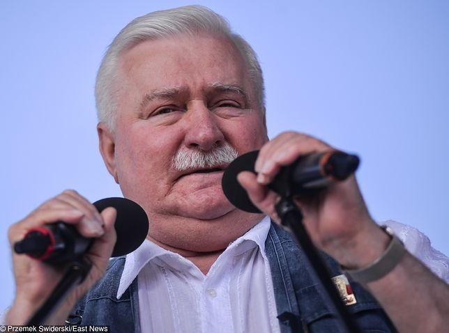 """Lech Wałęsa weźmie udział w wiecu przed Sądem Najwyższym. Zapowiada """"osąd"""" i wylicza błędy PiS"""