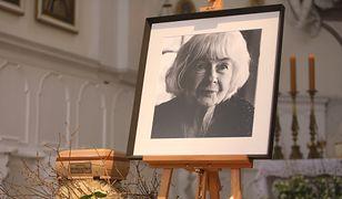 Ostatnie pożegnanie Danuty Szaflarskiej.  Pogrzeb królowej polskiego filmu