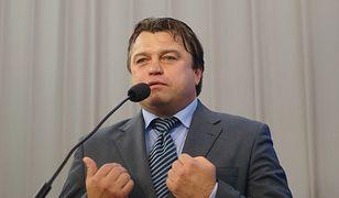 Roman Kosecki, były piłkarz, obecnie poseł PO