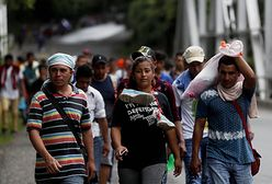 Karawana migrantów – Trump grozi odcięciem funduszy pomocowych Hondurasowi