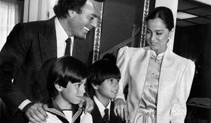 Julio Iglesias jest teraz ojcem ósemki dorosłych dzieci