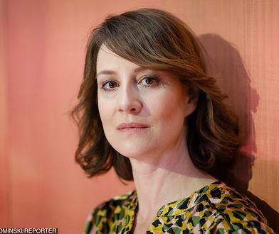Maja Ostaszewska wspiera strajk nauczycieli. Posłała dzieci do prywatnej szkoły