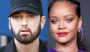 Eminem z całego serca przeprasza Rihannę. Przed laty popierał Chrisa Browna