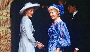 Księżna Diana z matką Frances Shand Kydd