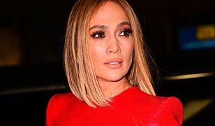 Jennifer Lopez w Nowym Jorku.