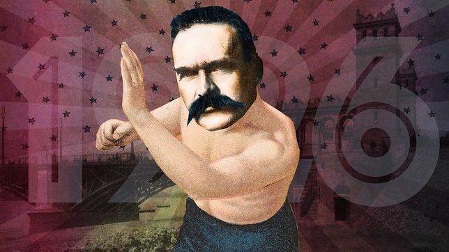 Piłsudski wykonał PRZEWRÓT na moście! Wyczyn!!